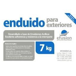 ENDUIDO PARA EXTERIORES 7KG