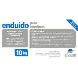 ENDUIDO PARA INTERIORES 10KG