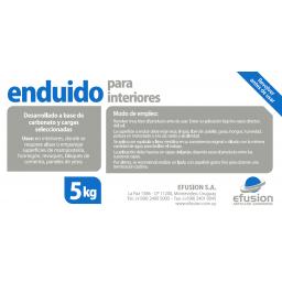 ENDUIDO PARA INTERIORES 5KG