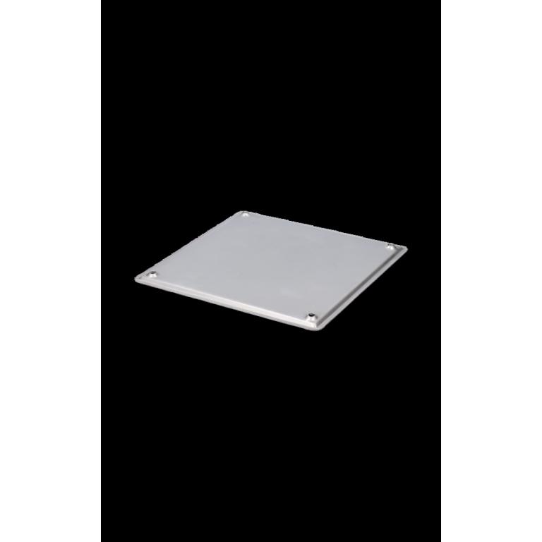 TAPA CIEGA ACERO INOX. 15X15mm